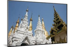 Myanmar, Yangon. Shwedagon Pagoda, Holiest Buddhist Shrine in Myanmar by Cindy Miller Hopkins