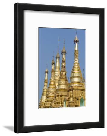 Myanmar, Yangon. the Ornate Shwedagon Pagoda