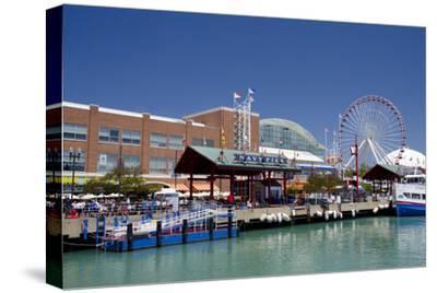 Navy Pier Along the Shores of Lake Michigan, Chicago, Illinois
