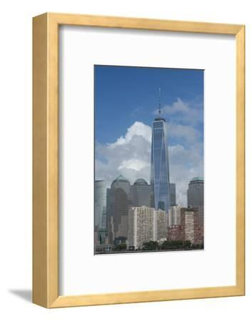 New York, New York City. Downtown City Skyline with the Freedom Tower