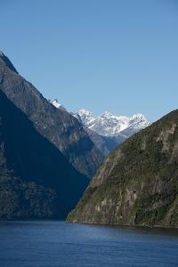 New Zealand, Fiordland National Park, Milford Sound, known as Piopiotahi by Cindy Miller Hopkins