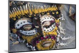 Papua New Guinea, Village of Kopar. Folk Art Souvenir Mask by Cindy Miller Hopkins