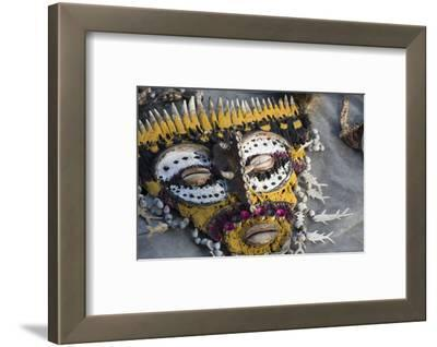Papua New Guinea, Village of Kopar. Folk Art Souvenir Mask