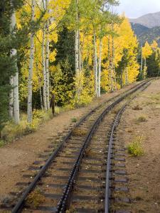 Pikes Peak Cog Railway, Manitou Springs, Colorado Springs, Colorado, USA by Cindy Miller Hopkins