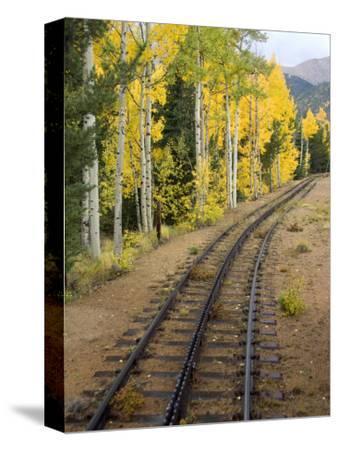 Pikes Peak Cog Railway, Manitou Springs, Colorado Springs, Colorado, USA