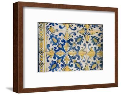 Portuguese Tiles, Jesuit Cathedral Basilica, Salvador, Bahia, Brazil,