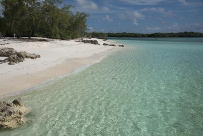 Seychelles, Aldabra Island Group, Aldabra Atoll, Picard Island. Remote pristine white sand beach. by Cindy Miller Hopkins