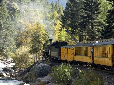 The Durango & Silverton Narrow Gauge Railroad, Colorado, USA