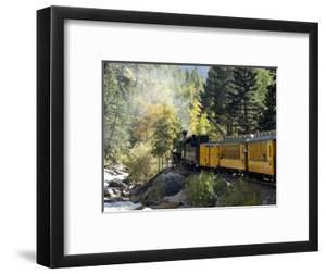 The Durango & Silverton Narrow Gauge Railroad, Colorado, USA by Cindy Miller Hopkins