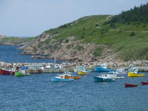 White Point along Aspy Bay, Cabot Trail, Cape Breton Island, Nova Scotia, Canada by Cindy Miller Hopkins