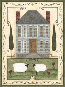 Blue House by Cindy Shamp