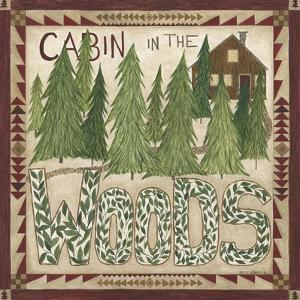 Cabin in the Woods by Cindy Shamp