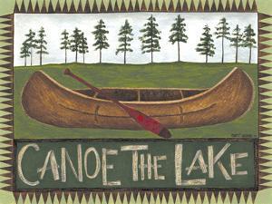 Canoe on the Lake by Cindy Shamp