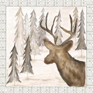 Deer w/ Border by Cindy Shamp