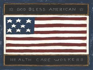 God Bless Health Care Workers by Cindy Shamp