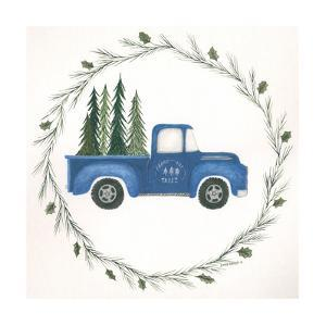Old Blue Truck by Cindy Shamp