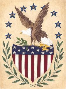 Patriotic Eagle by Cindy Shamp