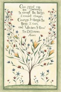 Serenity Prayer by Cindy Shamp
