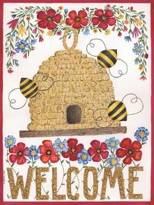 Welcome Beehive by Cindy Shamp
