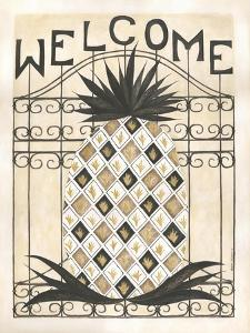 Welcome Pineapple by Cindy Shamp