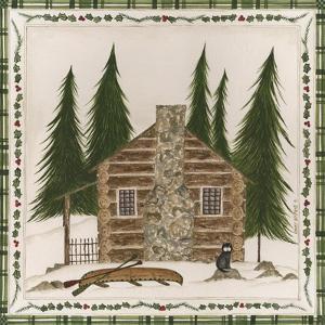 Winter Cabin by Cindy Shamp