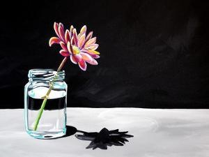 Jar & Flower by Cindy Thornton