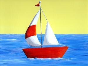 Lil Sailboat by Cindy Thornton