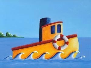 Lil Tugboat by Cindy Thornton