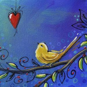 Song Bird III by Cindy Thornton