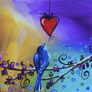 Song Bird VI by Cindy Thornton