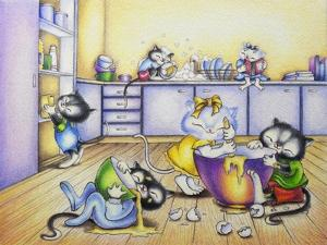 Baking For Mummy by Cindy Wider