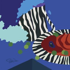 My Zebra Dinner Set by Cindy Wider