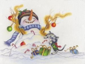 Snowman-Cuddles by Cindy Wider