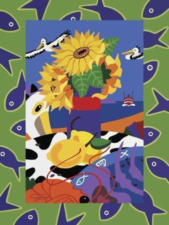Sunflowers And Lemons