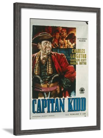 Cinema Poster for 'Captain Kidd', 1945--Framed Giclee Print