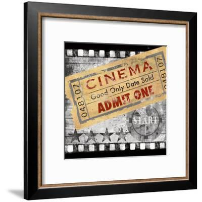Cinema-Conrad Knutsen-Framed Art Print