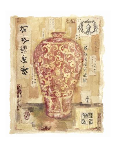 Cinnabar Vase-Jane Claire-Art Print