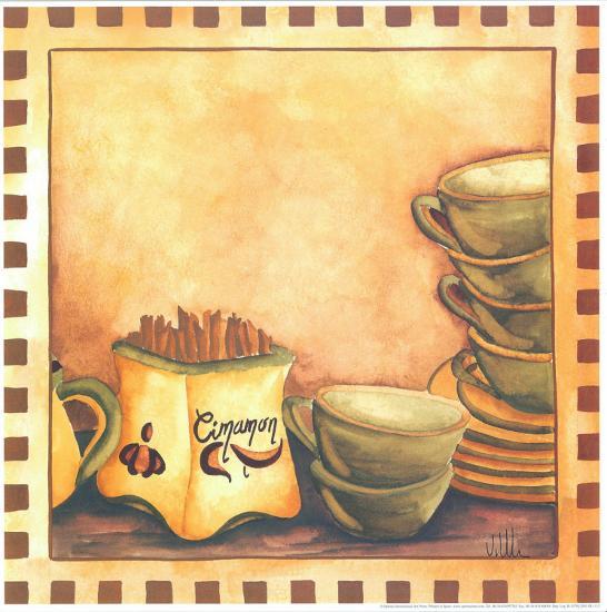 Cinnamon And Cups-Urpina-Art Print