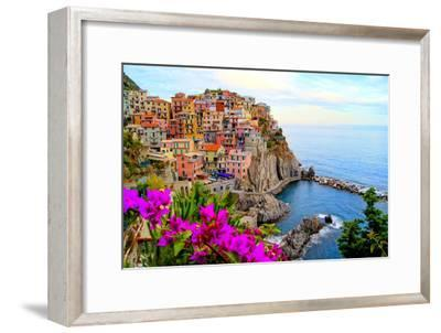 Cinque Terre, Italy-Jeni Foto-Framed Photographic Print