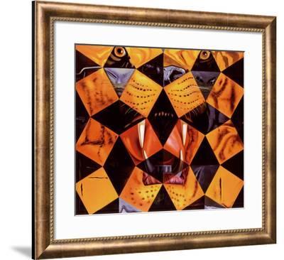 Cinquenta, Tigre Real-Salvador Dalí-Framed Art Print