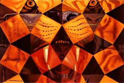 Cinquenta, Tigre Real-Salvador Dal?-Poster