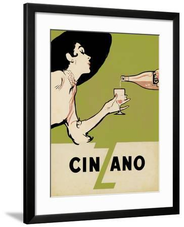 Cinzano - Citrus-The Vintage Collection-Framed Giclee Print