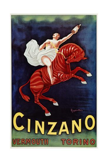 Cinzano- Vermouth-Marcus Jules-Giclee Print