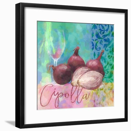 Cipolla Rossa - Red Onion-Cora Niele-Framed Giclee Print