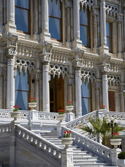 Ciragan Palace, Standing on Shores of Bosphorus in Istanbul, Is Now a 5 Star Kempinski Hotel-Julian Love-Photographic Print