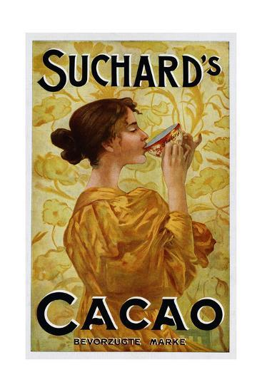 Circa 1905 Belgian Poster for Suchard's Cacao--Giclee Print