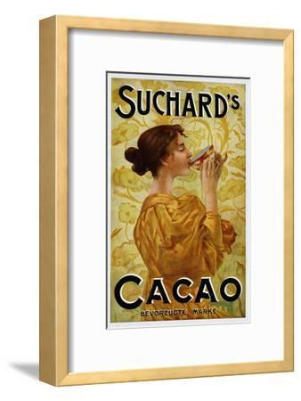 Circa 1905 Belgian Poster for Suchard's Cacao