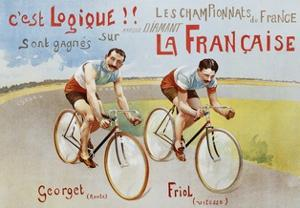 Circa 1906 French Poster for Marque Diamant