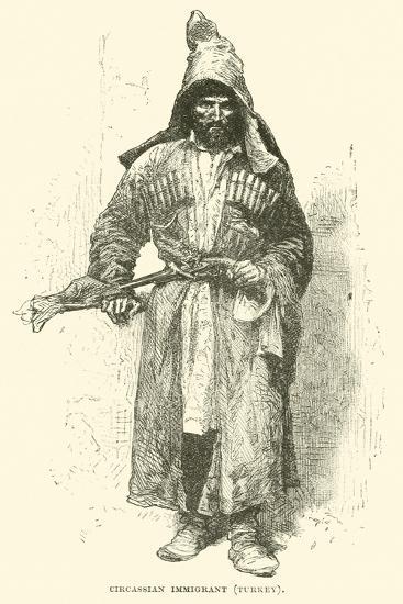 Circassian Immigrant, Turkey--Giclee Print