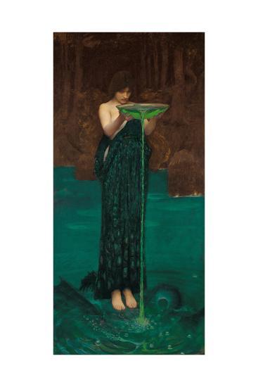 Circe Invidiosa, 1892-John William Waterhouse-Giclee Print